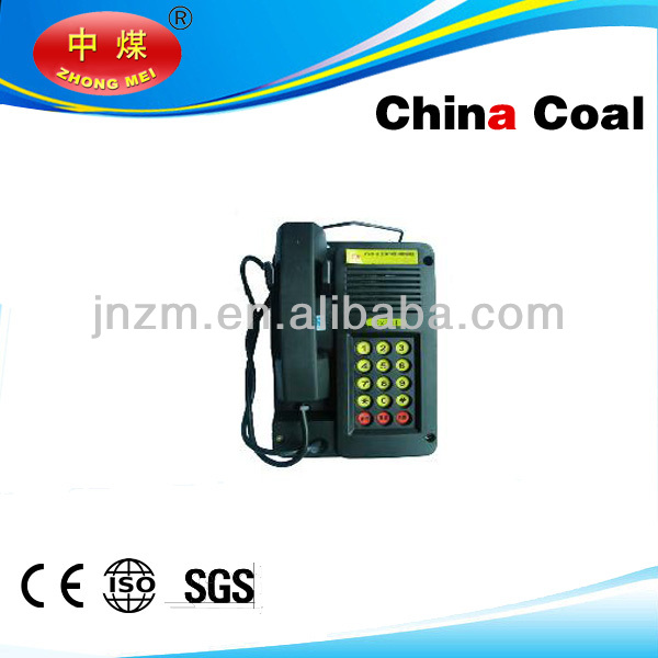 Explosion proof telephone with MA certification