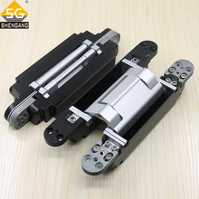 Zinc alloy and aluminium alloy 180 degree heavy duty adjustable conceal hinge for wooden door