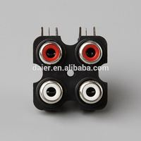 Daier rca connectors