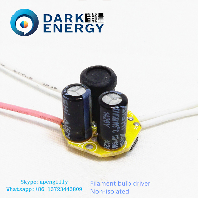 mini size power suppLy 1-4w led lamp driver brand of dark energy