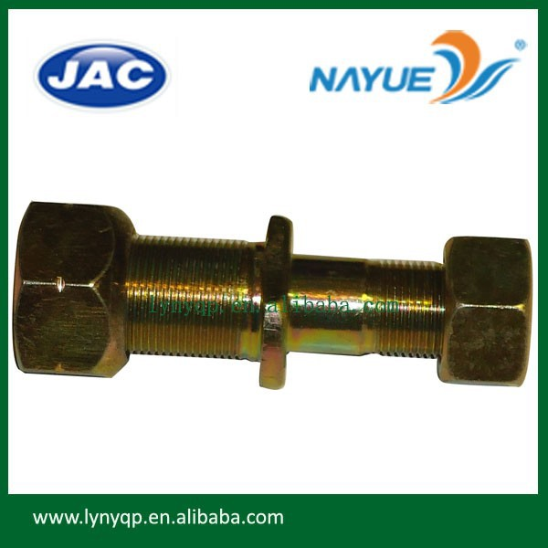 Chinese JAC truck HFC1030 parts wheel bolt and nut D344-3103014
