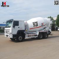 Construction machine factory sale 8m3 9m3 10m3 mobile HOWO concrete mixer truck