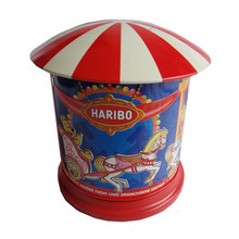 Rotatable carousel music gift tin box with competitive price