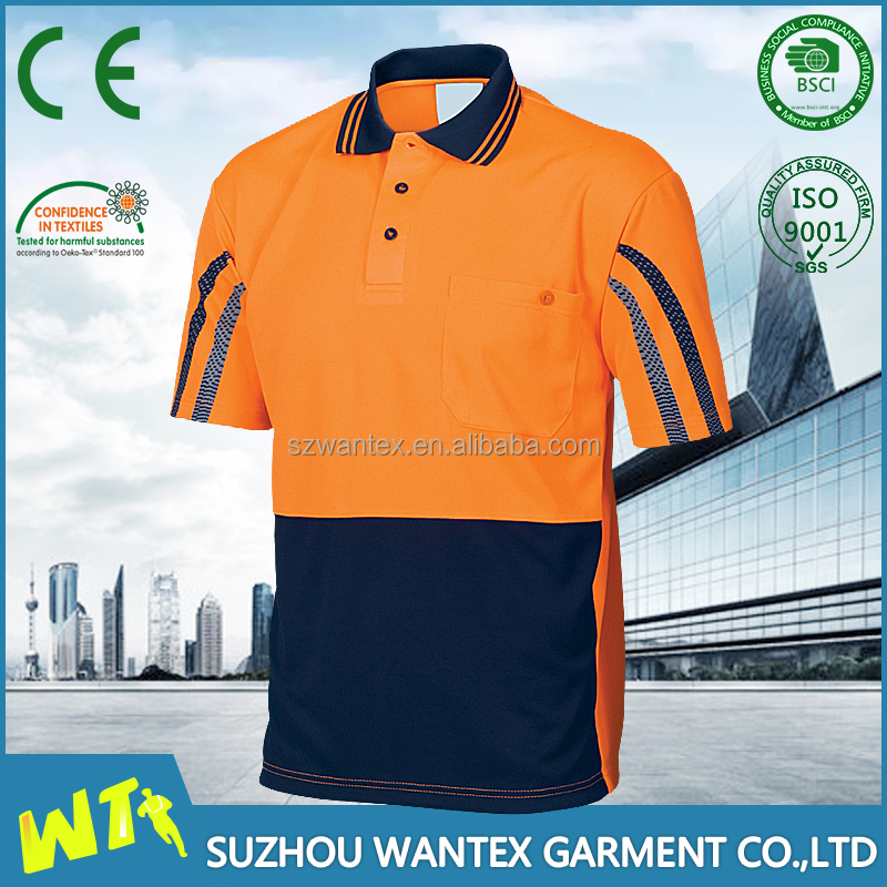 new breathable table tennis uniform polo shirts design