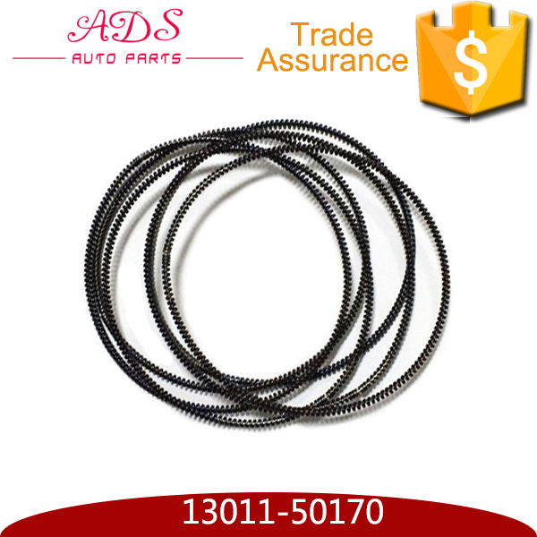 Alibaba wholesale standard chromium coated auto engine piston ring set for TOYOTA LEXUS GS300 LS430 OEM:13011-50170