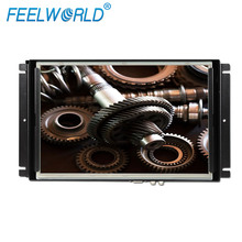 FEELWORLD 12 inch open frame lcd monitor with hdmi,VGA,HDMI,AV,DVI input and VESA 75x75mm