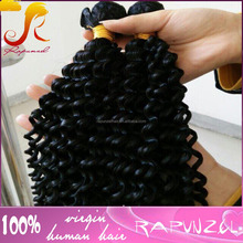 Wholesale raw100% brazilian hair extensions brazilian tight curly hair weaving