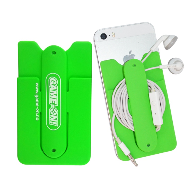 promotion silicon kickstand case for mobile phone