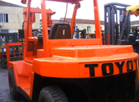 Used Toyota forklift 8ton FD80, second hand Toyota forklift parts 8ton,old diesel forklift 8 ton price/for sale, original japan