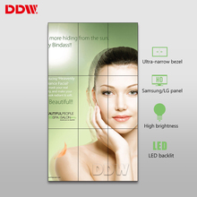 DDW CE ROSH Certified factory price ultra narrow bezel lcd video wall exhibition digital picture frames DDW-LW490DUN-THC1