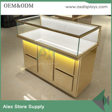 Boutique store furniture jewellery counter design for wholesale indian jewelry display
