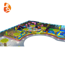 Integrated Commercial Children Attractive Colorful Indoor Playground Equipment