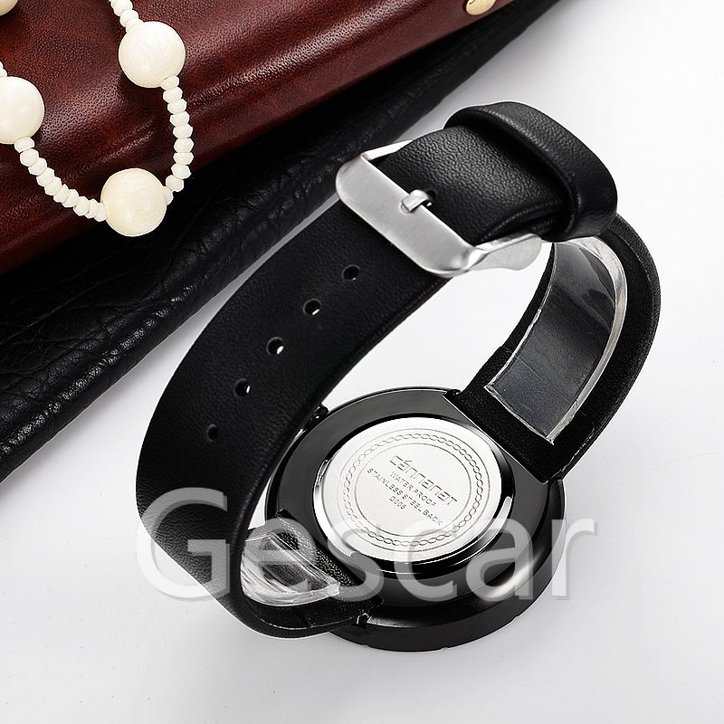 Rebirth REd005 hot sale high quality leather belt wrap quartz casual watch for man women