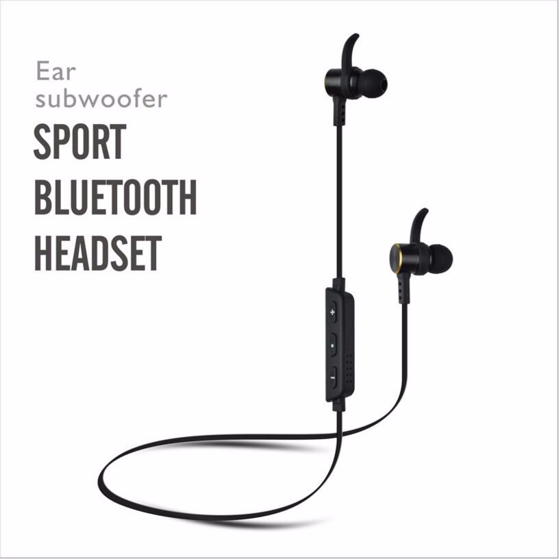 Bluetooth Headphones, Amicoo Wireless Bluetooth Sport Earbuds Lightweight Stereo Earphones Noise Cancelling Headphones with Mic