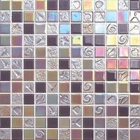Parquet Feature and Square Shape instant mixed color mosaic