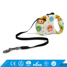 15kg Printing Dog Collar Leash Automatic Private Label Retractable Dog Leash