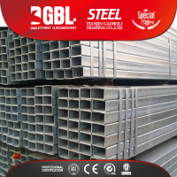 Minerals Metallurgy Rectangular Galvanized Steel Pipe