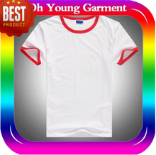100% Cotton Dye Sublimation Custom Man T-shirt Printing