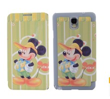 Excellent quality lovely cartoon picture printed mobile phone case for samsung Galaxy note3/N9000