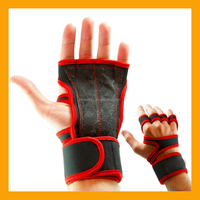 New Sports Weight Lifting Grip Gloves/Extra Padding Fitness Workout Gloves/Wrist Support Gymnastics Grip Gloves