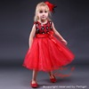 2016 Newest Baby Girls Party Dress Party Formal Children Flower Girls Dresses With Nice Bow Child Clothing GD80905-16