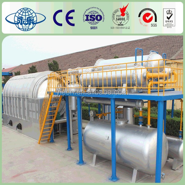 Environment Protection Recycling Tires Machinery To Oil
