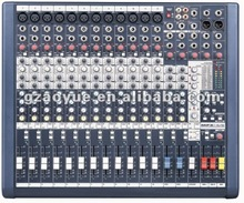 professional audio console with 3-band EQ on all channels