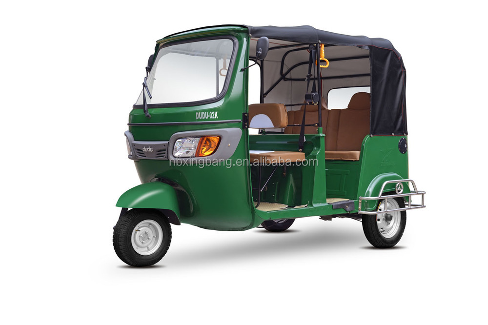 TVS King Electric Three Wheel Rickshaw Tricycle Taxi