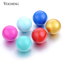 FREE SHIPPING 10pcs/lot Multicolor 16mm Copper music ring bell chimer for vocheng angel locket necklace (VA-007)