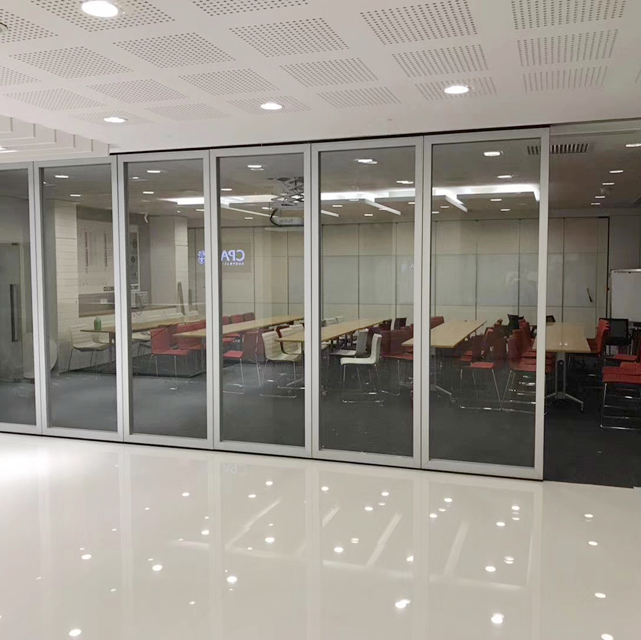 Mobile Designer Factory Glazing Glass Partition Wall for Multi-Function Room