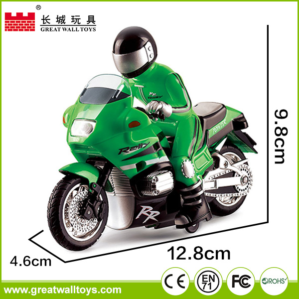 12.8*4.6*9.8cm rc Motorcycle For Children