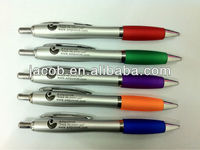 hot sale customized logo promotional ball pen 1000 pcs MOQ with free shipping
