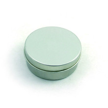 metal storage boxes aluminium tin lip balm cosmetic jars