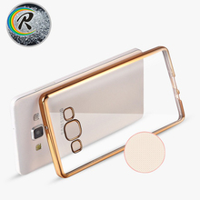 Transparent bumper case for galaxy a9 pro for Samsung A9 2016 cover shell Electroplating