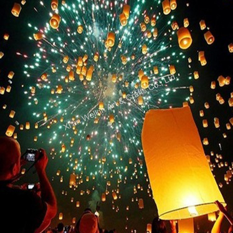 Paper crafts sky lanterns wishing lamp