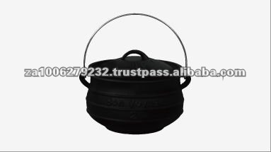 Flat Bottom High Quality Cast Iron Pot