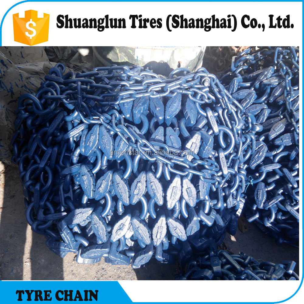 Tire chain snow chain for loaders