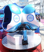 Virtual reality simulator 9D vr game simulator/egg style experience game machine FOR HOT SALES