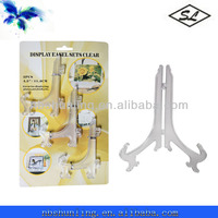 3pcs 11.5cm plastic china plate display stands