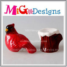 Unique Crafts Wholesale Bird Shaped Custom Ceramic Shaker Set