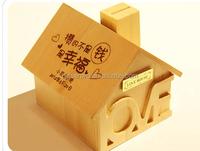 Creative hotsales wooden money box,super lovely wooden money box for gift,OEM factory super lovely wooden money box for gift