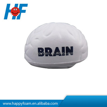 promotional foam brain stress ball