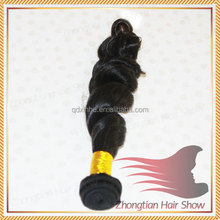 Wholesale 7A Grade Peruvian Virgin Hair Weft Unprocessed Raw Virgin Peruvian Hair