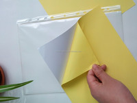 mirror coated self adhesive paper in sheets