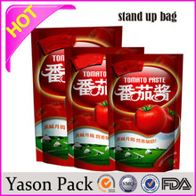 Yasonpack food pouch transparent plastic pill pouch drink pouches manufacturers