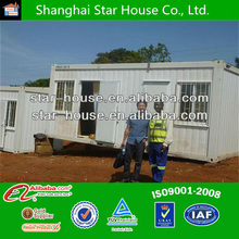 morocco steel prefabricated light steel home CE certificated sandwich panel prefab 20ft container house/prefabricated homes