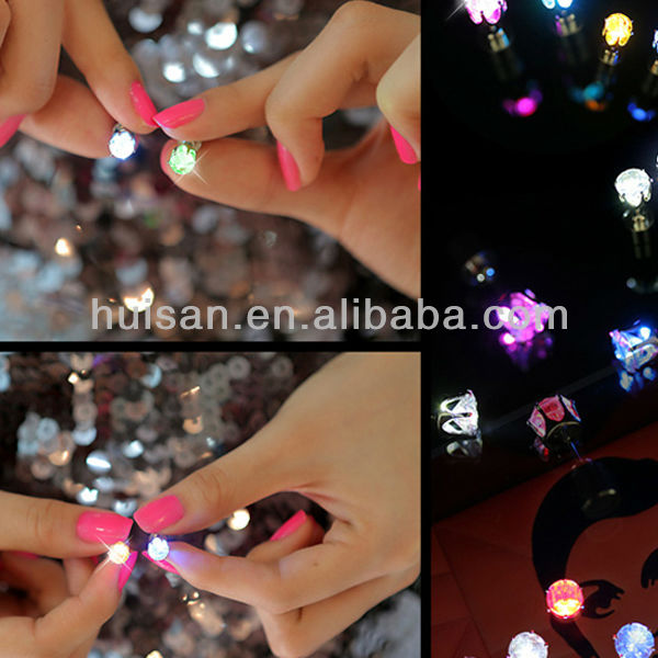 club party body decoration, light up earrings , led earrings