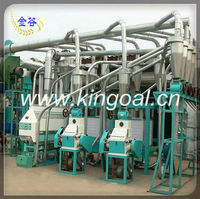 Power saving maize flour milling machines/mielie milling machines/mealie meal flour mill plant with price