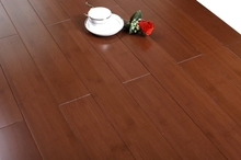 Great! Chocolate bamboo flooring