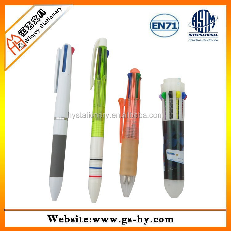 Plastic pencil shape promotion ball pen